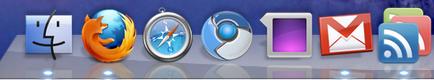 OS X's dock